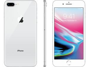 Apple iPhone 8+ Plus, Fully Unlocked, 64GB - Silver