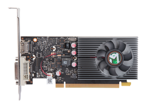MAXSUN GeForce GT 1030 Low Profile 2GB 64-Bit GDDR5 Support 4K DirectX 12 Shader Model 5.0 OpenGL 4.5