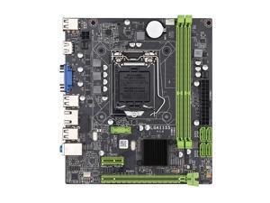 Jingsha H61 Desktop Motherboard CPU Socket Core i7 / i5 / i3 / Pentium / Celeron (LGA1155) DDR3 M-ATX Intel Motherboard