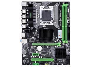 HUANANZHI X58 M-ATX Desktop Motherboard DDR3 LGA 1366 Support AMD RX series with USB 3.0