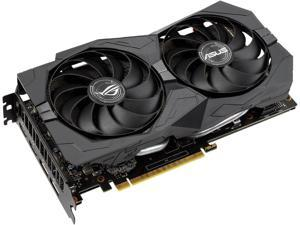 ASUS ROG Strix GeForce GTX 1660 SUPER Advanced 6GB Edition GDDR6 HDMI 2.0 DP 1.4 Gaming Graphics Card (ROG-STRIX-GTX1660S-O6G-GAMING)