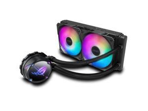 ASUS ROG STRIX LC II 240 ARGB AIO Liquid CPU Cooler 240mm Radiator (Two 120mm 4-pin PWM Fans) with Armoury Creat Controls