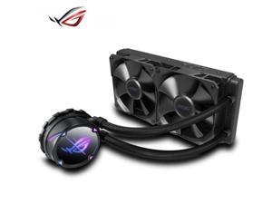 ASUS ROG STRIX LC II 240 AIO Liquid CPU Cooler 360mm Radiator (Two 120mm 4-pin PWM Fans) with Armoury Creat Controls