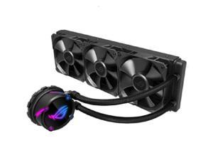 ASUS ROG STRIX LC 360 AIO Liquid CPU Cooler 360mm Radiator (Three 120mm 4-pin PWM Fans) with Armoury Creat Controls