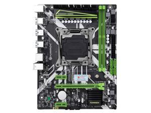 HUANANZHI X99-8M M-ATX Desktop Motherboard LGA 2011-v3 E5 v3 v4 I7 CPU DDR4 RAM Supports E5 2680V3 4620V3 2506V3 2680 V3 E5 V3 V4 Xeon DDR4 CPU M.2 PICE NVMe Socket DDR4 USB 3.0