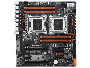 HUANANZHI X79 Dual Intel Xeon CPU LGA 2011 Sever Motherboard Workstation Motherboard Supports e5 v2 2680 V2