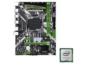 HUANANZHI X99-8M M-ATX Desktop Motherboard LGA 2011-v3 DDR4 RAM M.2 Socket DDR4 USB 3.0 + Intel Xeon E5 2680 V3 CPU Solution Combo