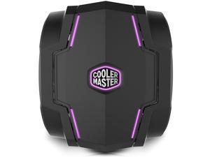 Cooler Master T610P CPU Air Cooler Support I9 LGA 2066 2011-V3 1151 AM4, 6 Heat pipes, 12CM Dual Fans, Sync with ASUS AURA MSI Mystic GIGABYTE Fusion ASrock RGB LED