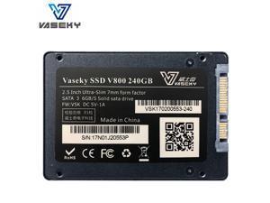 Vaseky V800 Series 2.5'' SATA3 240G MLC Solid State Drive for Desktop Notebook Standrad 2.5'' SATA3 240G Micron MLC Grain
