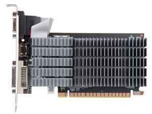 MAXSUN GeForce GT 710 DirectX 12 GT 710 HHM3 1GB 64-Bit DDR3 PCI Express 2.0 x16  Low Profile Video Card HDMI+DVI+VGA