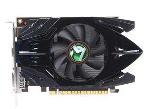 MAXSUN GeForce GT 730 DirectX 12 730HHII2G 2GB 128-Bit DDR3 PCI Express 2.0 x16 Standard ATX Video Card HDMI+DVI+VGA