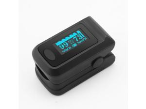 YSL-PO01B Pulse Oximeter Fingertip Blood Oxygen Monitor with LED HD Display - Black