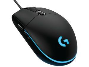 Logitech G102 (G203) IC PRODIGY 8000DPI 1000Hz Polling Rate 16.8M Color RGB Gaming Mouse - Black