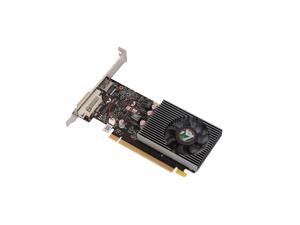 MAXSUN GeForce GT 1030 Low Profile 2GB 64-Bit GDDR5 Support 4K DirectX 12 Shader Model 5.0 OpenGL 4.5