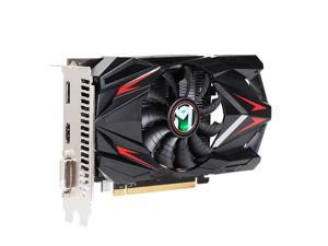 Maxsun Radeon RX 550 4G Graphic Card GDDR5 GPU Gaming Video Card video For PC New cyclone blade cooling system 9CM large size frost blade fan
