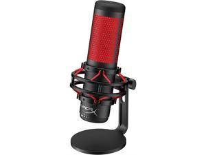 HyperX QuadCast USB Condenser Gaming Microphone for PC, PS4 and Mac - Red