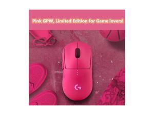 Logitech G Pro Wireless Gaming Mouse with Esports Grade Performance LIGHTSPEED Wireless HERO 16K Sensor, Pink(limited edition)