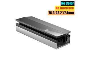 Hantop Heatsink Heat Dissipation Radiator SSD Cooling Heat Sink for M.2 NGFF 2280 PCI-E NVME SSD Heatsink Cooler