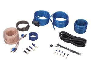 Rockville RWK10 10 Gauge Amp Installation Kit ANL Fuse Holder 100% Copper RCA