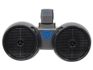 "Rockville DWB65B Dual 6.5"" Black 600 Watt Marine Wakeboard Tower Speaker System"