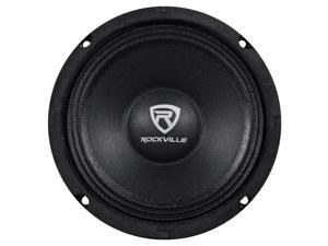 "Rockville RM64PRO 6.5"" 4 Ohm Mid-Bass Midrange Car Speaker, 105dB 200w"