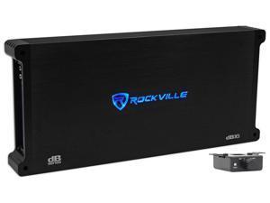 Rockville dB16 8000 Watt/4000w RMS Mono Class D 2 Ohm Amplifier Car Audio Amp