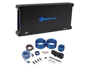 Rockville dB25 2800 Watt/1400w RMS 2 Channel Car Stereo Amplifier+Amp Kit Loud !