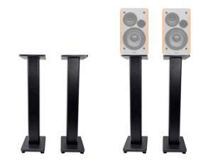 """Pair 36"""" Bookshelf Speaker Stands For Edifier R1280T Bookshelf Speakers"""