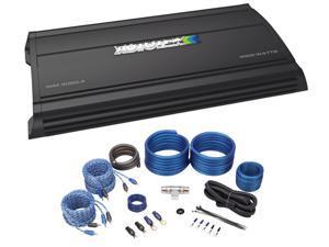 AUTOTEK MM4020.4 Mean Machine 4000 Watt 4-Channel Car Stereo Amplifier+Amp Kit