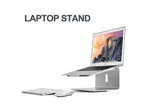 XtremPro Laptop Stand Aluminum 360° Rotatable Base Stand, Portable Holder for MacBook Pro, All Notebooks, Silver (22040)