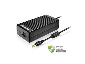 """XtremPro Laptop Gaming Power AC Adapter w/ Power Supply Cord, Extra Long 8.4ft, 19V 9.23A 180W, 100 - 240V, 0.29 x 0.2"""" Plug Tip, 6.5"""" x 3.25"""" x1.75"""" for DELL - Black (11152)"""