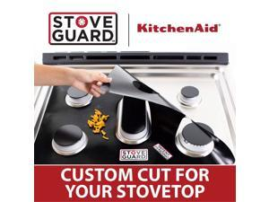 Kitchen Aid Stove Protectors - Stove Top Protector for Kitchen Aid KGCU467VSS Gas Ranges - Ultra Thin Easy Clean Stove Liner
