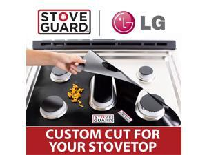 LG Stove Protectors - Stove Top Protector for LG LSG4513 Gas Ranges - Ultra Thin Easy Clean Stove Liner