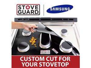 Samsung Stove Protectors - Stove Top Protector for Samsung NX58F5500SS/AA Gas Ranges - Ultra Thin Easy Clean Stove Liner