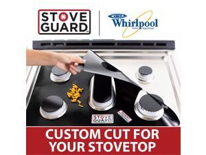 Whirlpool Stove Protectors - Stove Top Protector for Whirlpool WEG515S0FB0 Gas Ranges - Ultra Thin Easy Clean Stove Liner