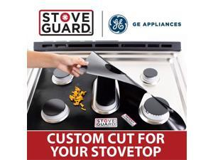 General Electric Stove Protectors - Stove Top Protector for GE JGP5036SL1SS Gas Ranges - Ultra Thin Easy Clean Stove Liner
