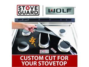 Wolf Stove Protectors - Stove Top Protector for Wolf SRT366 Gas Ranges - Ultra Thin Easy Clean Stove Liner