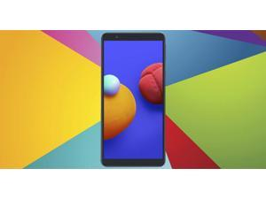 """Samsung Galaxy A01 Core (A013M/L DS) 5.3"""", 16GB Memory, 3000mAh Battery, Android 10, Dual SIM GSM Unlocked Global 4G LTE (T-Mobile, AT&T, Straight Talk) International Model (Black)"""