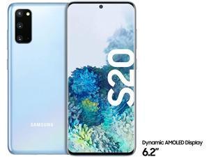 "Samsung Galaxy S20 SM-G980F/DS 6.2"" Display - 64MP - 128GB + 8GB RAM - Factory Unlocked - International Version - No Warranty"