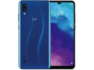 "ZTE Blade A5/L (2020) 6.09"" HD Edge to Edge Display, 32GG +  2GB RAM, 3200mAh Battery, Dual SIM GSM Unlocked US 4G LTE (T-Mobile, AT&T, Metro, Straight Talk) International Model (Blue)"