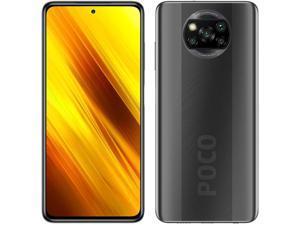 "Xiaomi Poco X3 NFC, 6.67"" DotDisplay, 128GB + 6GB RAM, 5160mAh Battery, Qualcomm Snapdragon 732G, GSM 4G LTE, Factory Unlocked Smartphone - International Version (Shadow Grey)"