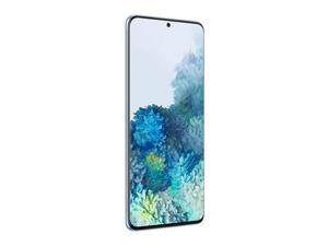 "Samsung Galaxy S20+ Plus 5G (SM-G986B/DS) 6.7"" Display | 128GB + 12GB RAM | Fingerprint ID & Facial Recognition | 4G LTE | Factory Unlocked I International Version No Warranty - Cloud Blue"