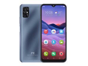 "ZTE Blade V20 Smart, 6.49"" Display, 128GB ROM + 4GB RAM, 4G LTE (Latin Spec) 48MP Triple Camera, Factory Unlocked Smartphone, International Version - Gray"