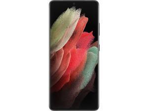 "Samsung Galaxy S21 Ultra 5G (G998B/L DS) 6.8"" AMOLED Display, 256GB + 12GB RAM, Pro-Grade, 8K Video, 108MP Camera, Factory Unlocked 5G Smartphone, Latin Spec, International Version - Phantom Black"