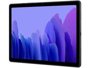 """Samsung Galaxy Tab A7 (SM-T505 - 2020, ) 10.4"""" Dynamic Display, 32GB + 3GB RAM, Dolby Atmos Surround Sound, WiFi + 4G LTE, 8MP Camera, GSM Factory Unlocked, International Model - Dark Gray"""