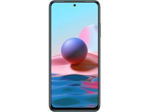 "Xiaomi Redmi Note 10, 6.43"" Super AMOLED Screen, 128GB + 6GB RAM, 48MP Quad Camera, GSM Factory Unlocked Smartphone, Global Version"