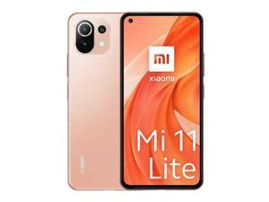 "Xiaomi Mi 11 Lite, 6.55"" FHD+ AMOLED DotDisplay, 128GB + 8GB RAM, 64MP Triple Camera, Qualcomm® Snapdragon™ 732G Processor, Factory Unlocked, International Version"