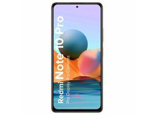 "Xiaomi Redmi Note 10 Pro, 6.67"" AMOLED DotDisplay, 128GB + 6GB RAM, 108MP Quad Camera, IP53 TÜV SÜD Certified, GSM Only, Factory Unlocked Smartphone, Global Version"