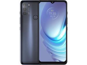 "Motorola Moto G50 ( XT2137-1 DS) 5G, 6.5"" Max Vision HD+ Display, 128GB + 4GB RAM, Qualcomm® Snapdragon™ 480, (GSM Only | No CDMA) Factory Unlocked - International Version"
