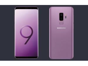 Samsung Galaxy S9 64GB SM-G9600 Factory Unlocked 4G Smartphone (Lilac Purple) - International Version